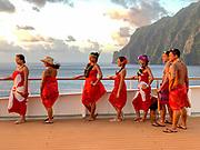 Les Gauguins, Paul Gauguin Cruise Crew, French Polynesia