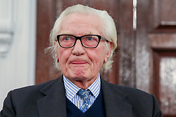 © Licensed to London News Pictures. 27/11/2019. London, UK. Former Conservative Deputy Prime Minister, LORD MICHAEL HESELTINE after speaking to the Liberal Democrat party activist and members of the media in De Vere Grand Connaught Rooms, Holborn about Brexit and the upcoming General Election. LORD MICHAEL HESELTINE supports Liberal Democrat candidates, SAM GYIMAH and CHUKA UMUNNA who are standing against the Tories on anti-Brexit manifestos. Britons go to the polls on 12 December in a General Election. Photo credit: Dinendra Haria/LNP