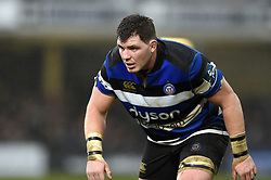 James Phillips of Bath Rugby looks on - Mandatory byline: Patrick Khachfe/JMP - 07966 386802 - 27/01/2018 - RUGBY UNION - The Recreation Ground - Bath, England - Bath Rugby v Newcastle Falcons - Anglo-Welsh Cup