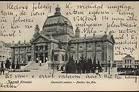 Zagreb (Croatie) : Umjetnički paviljon = Pavillon des Arts. <br /> <br /> ImpresumZagreb : Naklada Jul. Hühna, [19--].<br /> Materijalni opis1 razglednica : tisak ; 8,8 x 13,7 cm.<br /> NakladnikJulije Hühn<br /> Mjesto izdavanjaZagreb<br /> Vrstavizualna građa • razglednice<br /> ZbirkaGrafička zbirka NSK • Zbirka razglednica<br /> Formatimage/jpeg<br /> PredmetZagreb –– Trg kralja Tomislava<br /> SignaturaRZG-TOM-13<br /> Obuhvat(vremenski)20. stoljeće<br /> NapomenaRazglednica nije putovala.<br /> PravaJavno dobro<br /> Identifikatori000952747<br /> NBN.HRNBN: urn:nbn:hr:238:001542 <br /> <br /> Izvor: Digitalne zbirke Nacionalne i sveučilišne knjižnice u Zagrebu