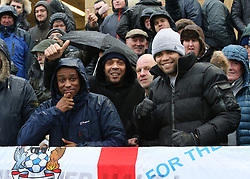 Coventry City fans at half time
