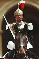 Corazzieri - The italian horse mounted Presidential elite guard<br />Photo by Dennis Brack. bb77