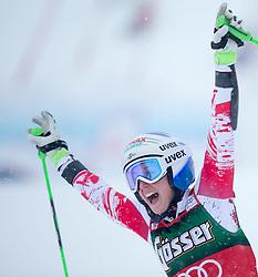 28.12.2014, Hohe Mut, Kühtai, AUT, FIS Ski Weltcup, Kühtai, Riesenslalom, Damen, 2. Durchgang, im Bild Eva-Maria Brem (AUT) // Eva-Maria Brem of Austria reacts after 2nd run of Ladies Giant Slalom of the Kuehtai FIS Ski Alpine World Cup at the Hohe Mut Course in Kuehtai, Austria on 2014/12/28. EXPA Pictures © 2014, PhotoCredit: EXPA/ JFK