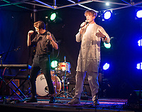 Giants  live at the picnic at the castle,Warwick Castle photo by Brian Jordan