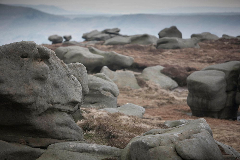 April 2010 Walk Mag Pennine Way Kinder Scout Edale with Andrew McCloy and Kate Ashbrook
