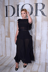 Florence Pugh attending the Photocall before the Christian Dior Couture S/S19 Cruise Collection at the Grandes Ecuries de Chantilly, France on May 25, 2018. Photo by Aurore Marechal/ABACAPRESS.COM