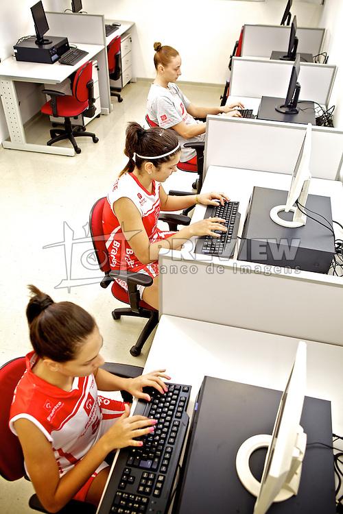 Sala de Informática no ADC Bradesco Esporte e Educação, em Osasco. FOTO: Jefferson Bernardes/Preview.com