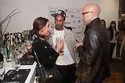 YADI; AYNZLI JONES; METIS, Casio Tokyo Trio Watch  launch party  hosted by My Flash Trash. The Study, 10a Blandford Street, London. 28 January 2013