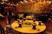 China, Beijing, Interior of the Man Fu Lou Chinese Restaurant