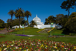 California: San Francisco. Conservatory of Flowers in Golden Gate Park.  Photo copyright Lee Foster. Photo #: 23-casanf78901
