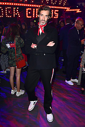 Richard Biedul during the Tommy Hilfiger Front row during London Fashion Week SS18 held at Roundhouse, Chalk Farm Rd, London. Picture Date: Tuesday 19 September. Photo credit should read: Ian West/PA Wire