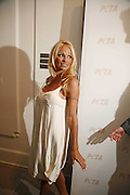 Pamela Anderson, PETA's Humanitarian Awards, Stella McCartney, Bruton Street, London, W1. 28 June 2006. ONE TIME USE ONLY - DO NOT ARCHIVE  © Copyright Photograph by Dafydd Jones 66 Stockwell Park Rd. London SW9 0DA Tel 020 7733 0108 www.dafjones.com