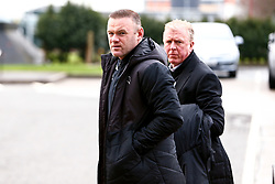 Derby County manager Wayne Rooney and Derby County Technical Director Steve McClaren arrive at Pride Park Stadium, home to Derby County - Mandatory by-line: Ryan Crockett/JMP - 16/01/2021 - FOOTBALL - Pride Park Stadium - Derby, England - Derby County v Rotherham United - Sky Bet Championship