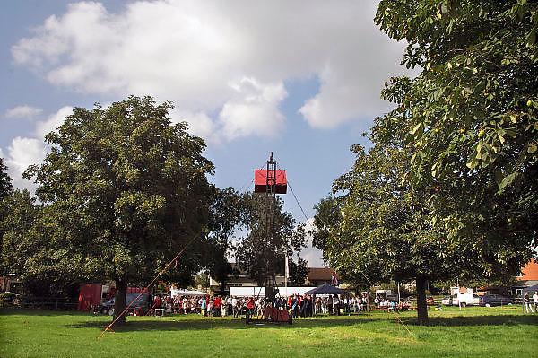 Nederland, Kekerdom, 22-8-2010Het jaarlijkse koningsschieten. Een belangrijk feest voor deze kleine gemeenschap, in de ooijpolder. Traditie, folklore, Foto: Flip Franssen/Hollandse Hoogte