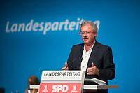 DEU, Deutschland, Germany, Berlin, 01.06.2018: Luxemburgs Aussenminister Jean Asselborn bei einer Rede auf dem Landesparteitag der Berliner SPD im Hotel Andels.