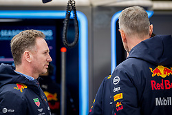 February 19, 2019 - Barcelona, Spain - Christian HORNER, Team Red Bull Racing Principal in team box during second journey of F1 Test Days in Montmelo circuit, on February 19, 2019. (Credit Image: © Javier MartíNez De La Puente/NurPhoto via ZUMA Press)