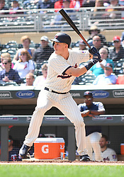 May 2, 2018 - Minneapolis, MN, U.S. - MINNEAPOLIS, MN - MAY 02: Minnesota Twins Outfield Max Kepler (26) at the plate during a MLB game between the Minnesota Twins and Toronto Blue Jays on May 2, 2018 at Target Field in Minneapolis, MN.The Twins defeated the Blue Jays 4-0.(Photo by Nick Wosika/Icon Sportswire) (Credit Image: © Nick Wosika/Icon SMI via ZUMA Press)