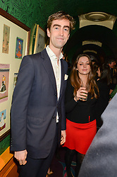 TOM FABER at the 2nd Bright Young Things Back In London party held at Annabel's, 44 Berkeley Square, London on 11th February 2016.