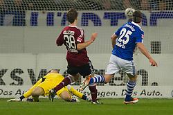 19-11-2011 VOETBAL: SCHALKE 04 - FC NURNBERG: GELSENKIRCHEN<br /> Klaas-Jan Huntelaar scoort de 3-0 <br /> ***NETHERLANDS ONLY***<br /> ©2011-FRH- NPH/Kurth