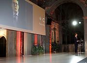 Uitreiking van de Prins Claus Prijs 2014 n het Koninklijk Paleis in Amsterdam.<br /> <br /> Presentation of the Prince Claus Award in 2014 n the Royal Palace in Amsterdam.<br /> <br /> op de foto / On the photo: Prins Constantijn tijdens de uitreiking van de Prins Claus Prijs / Prince Constantijn during the presentation of the Prince Claus Award