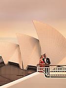 P&O Aurora in Sydney Harbour