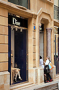 A street in the recently rebuilt Downtown area, containing many luxury shops, Beirut, Lebanon
