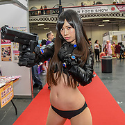 Kawaii Japan Offical Cospalyers cast Ichila Amatsu at Hyper Japan Festival 2019 - Day 2 on 13 July 2019, Olympia London, UK.