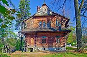 Willa Koliba - pierwszy budynek w stylu zakopiańskim zaprojektowany przez Stanisława Witkiewicza.