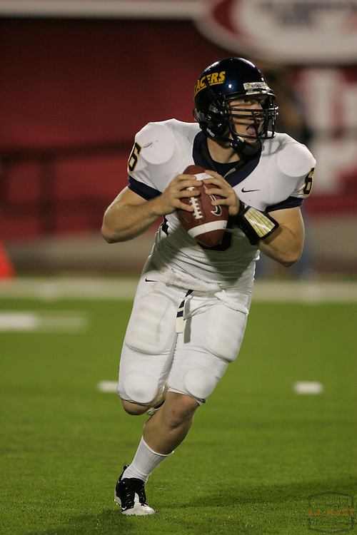 06 September 2008: Murray State quarterback Nico Yantko (6) as the Indiana Hoosiers played the Murray State in a college football game in Bloomington, Ind....