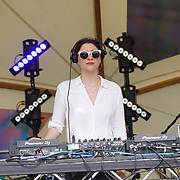 Moxie preforms at the GALA Festival 2017 on 28th May 2017 at Brockwell Park, Brixton, London,UK. by See Li