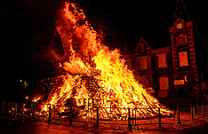 Hogmanay Bonfire, Biggar, 31 December 2019