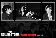 Rolling Stones Poster.Charlie is my Darling.Ireland 1965, Romantic gifts of Limited Edition Prints of Bill Wyman, The Rolling Stones, Charlie is my Darling, Ireland 1965.  <br />