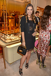 Amber Le Bon at the reopening of the Cartier Boutique, New Bond Street, London, England. 31 January 2019. <br /> <br /> ***For fees please contact us prior to publication***