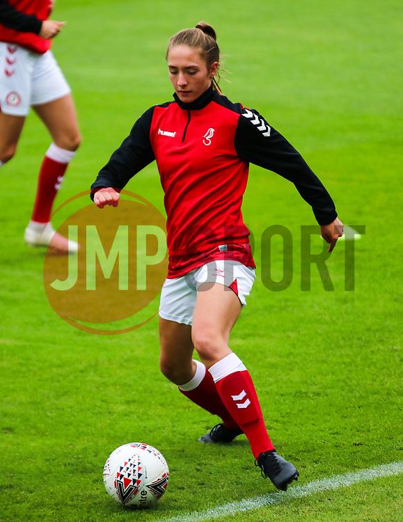Charlie Wellings of Bristol City Women - Mandatory by-line: Will Cooper/JMP - 18/10/2020 - FOOTBALL - Twerton Park - Bath, England - Bristol City Women v Birmingham City Women - Barclays FA Women's Super League