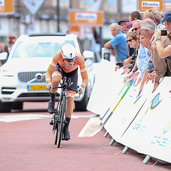 28-08-2018: Wielrennen: Ladies Tour: Arnhem <br />Anna van der Breggen werd tweede openingstijdrit van de Boels Ladies Tour gewonnen.