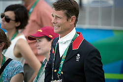 Fox Pitt William, GBR<br /> Dressage test evening<br /> Olympic Games Rio 2016<br /> © Hippo Foto - Dirk Caremans<br /> 06/08/16
