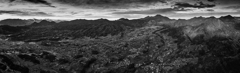 Ciwidey, Mount Patuha & Kawah Puth, Bandung, West Java, Indonesia.