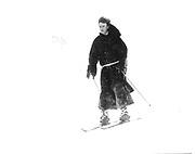 Lord Xan Rufus Isaacs. Dangerous Sports Club Ski Race. St. Moritz 1983© Copyright Photograph by Dafydd Jones 66 Stockwell Park Rd. London SW9 0DA Tel 020 7733 0108 www.dafjones.com