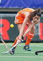 DEN HAAG - NAOMI VAN AS. Nederland speelt oefenwedstrijd tegen USA in het Kyocera Stadion. COPYRIGHT KOEN SUYK
