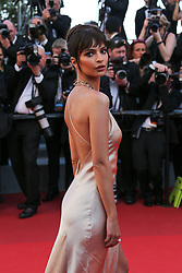 Emily Ratajkowski arriving at Les Fantomes d'Ismael screening and opening ceremony held at the Palais Des Festivals in Cannes, France on May 17, 2017, as part of the 70th Cannes Film Festival. Photo by David Boyer/ABACAPRESS.COM