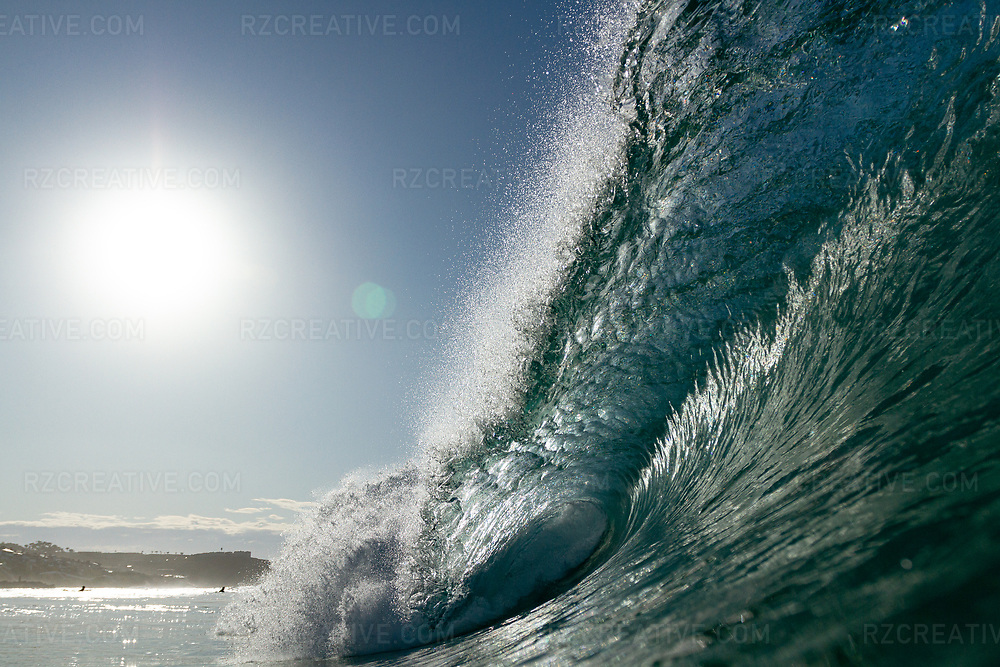 Water shot of a breaking wave at Salt Creek in Dana Point, Calif. Photo © Robert Zaleski / rzcreative.com<br /> —<br /> To license this image contact: robert@rzcreative.com