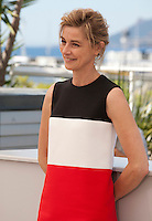 Actress Anne Consigny at the Elle film photo call at the 69th Cannes Film Festival Saturday 21st May 2016, Cannes, France. Photography: Doreen Kennedy