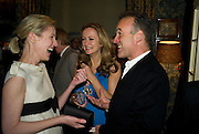 SYDNEY FINCH, LUCY YEOMANS AND NICK BROOMFIELD, Pre Bafta dinner hosted by Charles Finch and Chanel. Mark's Club. Charles St. London. 9 February 2008.  *** Local Caption *** -DO NOT ARCHIVE-© Copyright Photograph by Dafydd Jones. 248 Clapham Rd. London SW9 0PZ. Tel 0207 820 0771. www.dafjones.com.
