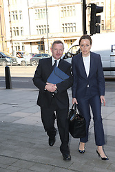 April 19, 2018 - London, London, United Kingdom - Image licensed  to i-Images Picture Agency. 19/04/2018. London, United Kingdom. Shoreham Air show Pilot Andy Hill arriving at Westminster Magistrates Court in London  (Credit Image: © Stephen Lock/i-Images via ZUMA Press)