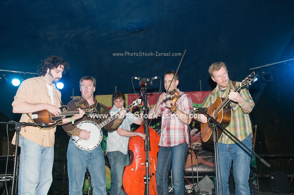Israel, Nof Ginosar, Toronto's Traditional Bluegrass Band - The Foggy Hogtown Boys