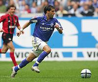 Fotball<br /> Bundesliga Tyskland 2004/2005<br /> Foto: Witters/Digitalsport<br /> NORWAY ONLY<br /> <br /> LINCOLN<br /> Fussballspieler FC Schalke 04