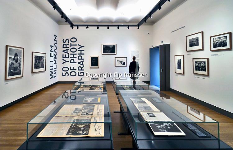 Amsterdam, 29-10-2020 In het Rijksmuseum is een expositie ingericht met als thema Willem Diepraam, 50 jaar fotografie .Foto: ANP/ Hollandse Hoogte/ Flip Franssen