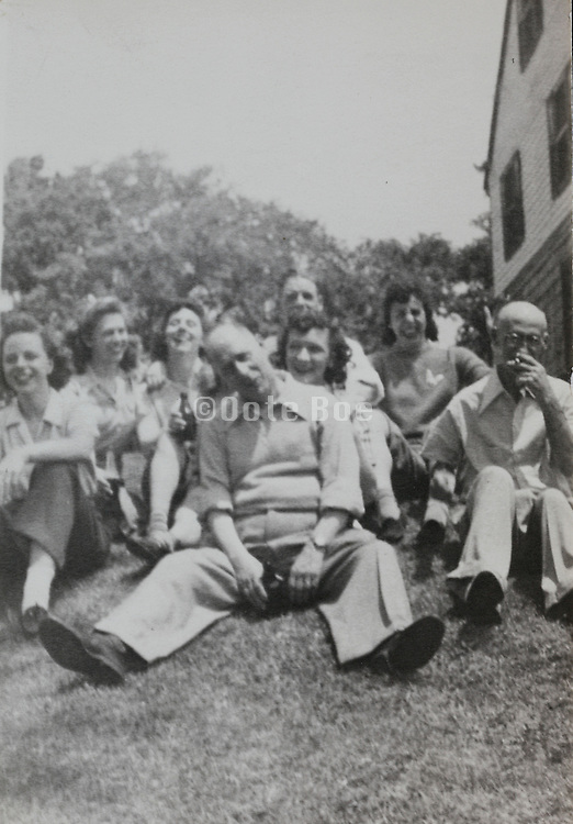 a recreational day out for employees USA 1940s