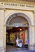 France, Paris (75), Galerie Véro-Dodat // France, Paris, Vero Dodat galerie