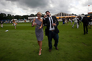JENNI FALCONER; ZAFAR RUSHDIE, Veuve Clicquot Gold Cup. Cowdray Park on July 20, 2008 . Midhurst, England.